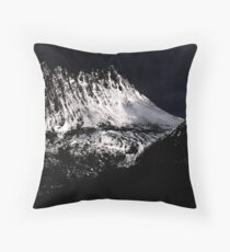 Tasmania Stormy Cradle Mt Throw Pillow