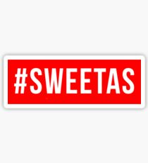 #sweetas Sticker
