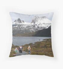 Tasmania Cradle Mt-Lake Dove Throw Pillow