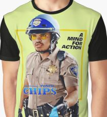 CHiPs Ponch Graphic T-Shirt