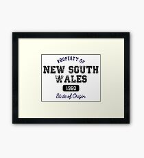 Property of NSW Framed Print