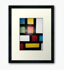 original pattern acrylic painting Framed Print