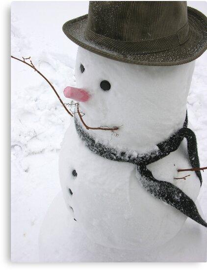 Snowman by cshphotos
