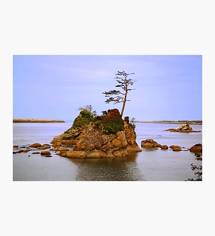 A Tiny Island Photographic Print
