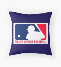 Major League Baseball Throw Pillow