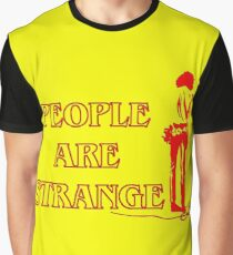 People Are Strange Graphic T-Shirt