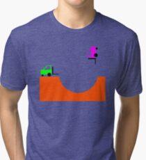 Forky Skate Bowl Tri-blend T-Shirt