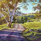 Spring in the Valley - Trawool by Lynda Robinson