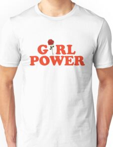 Girl Power Rose Unisex T-Shirt
