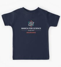 March for Science Melbourne logo – light  Kids Tee