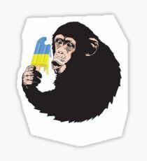 chimp Chimp Sticker