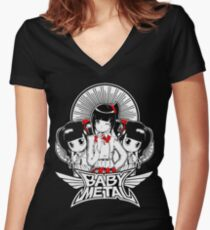BABY METAL IV Women's Fitted V-Neck T-Shirt