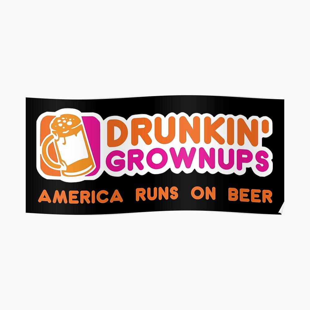 Drunkin Grownups (Amerika Version) Poster