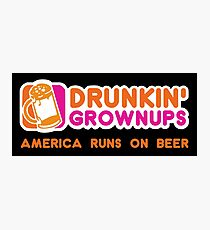 Drunkin Grownups (America Version) Photographic Print