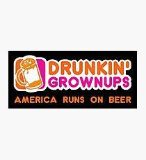 Drunkin Grownups (America Version) Photographic Print