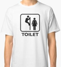 Toilet Cubicle Classic T-Shirt