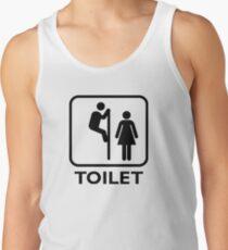 Toilet Cubicle Tank Top
