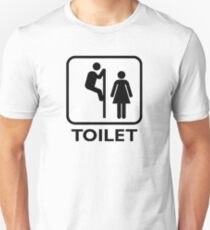 Toilet Cubicle Unisex T-Shirt