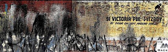 """Ist Door On Left Around Corner - """"The Wall Series"""" by Michael Kienhuis"""