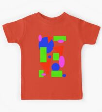 Rainbow Shapes Kids Tee