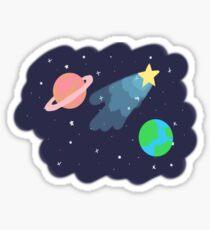 A Little Bit of Space Sticker