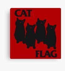 Cat Flag Canvas Print