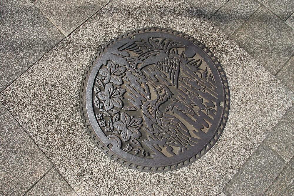 Manhole cover - Okayama by Trishy