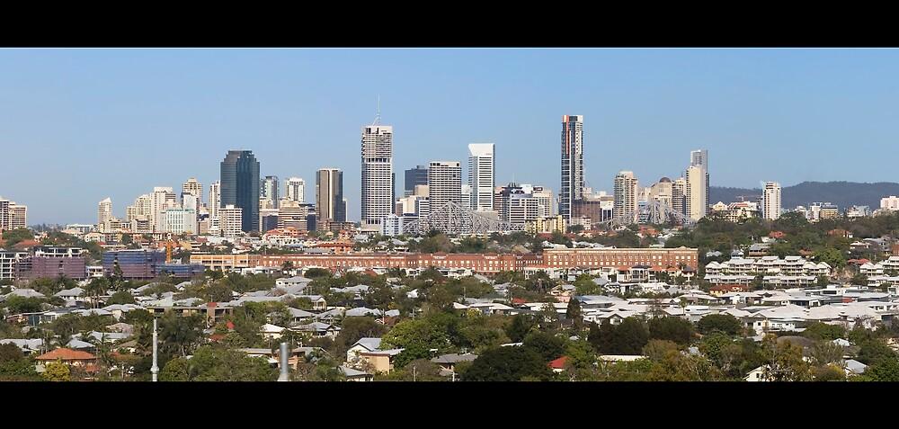Brisbane Panorama by Nathan Ashton