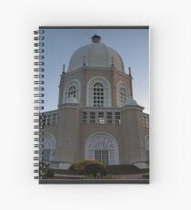 Bahai temple2 Spiral Notebook