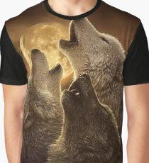 Beautiful  Wolf Graphic T-Shirt