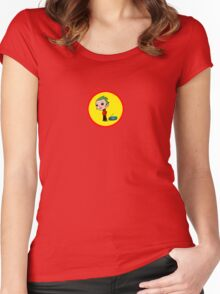 Colour and Sound Women's Fitted Scoop T-Shirt