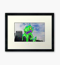 Reptar Framed Print