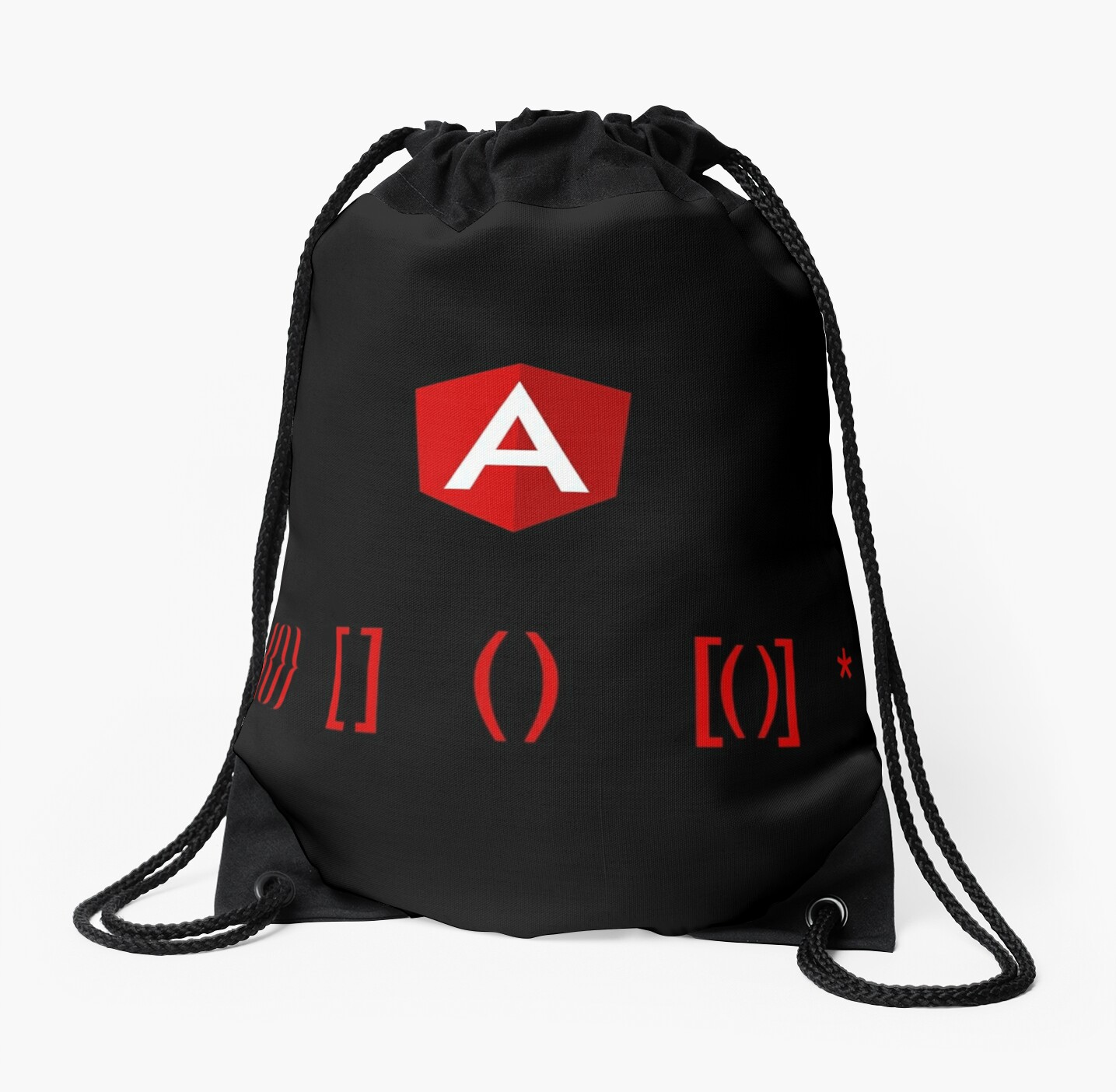 angular dynamic templates drawstring bags by ddelfio redbubble