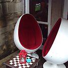 Retro Style Cafe Off Princes Street,Edinburgh by biddumy