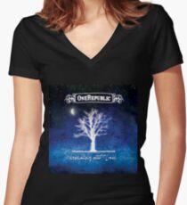 onerepublic odry3 Women's Fitted V-Neck T-Shirt