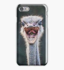 Angry Ostrich in South Africa iPhone Case/Skin
