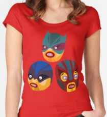 Superheroes Women's Fitted Scoop T-Shirt