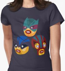 Superheroes Womens Fitted T-Shirt
