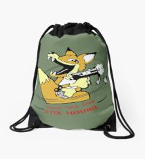 Metal Gear Solid 1 - Foxhound (toon) Drawstring Bag