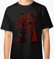 Zaku II Outline Classic T-Shirt