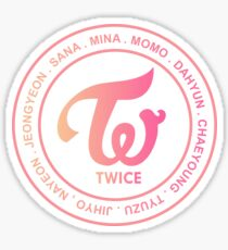 TWICE OT9 MEMBER Sticker