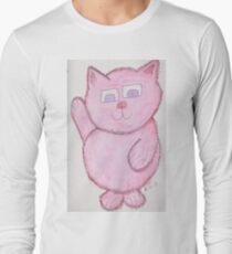 Pinkie Kitty Long Sleeve T-Shirt