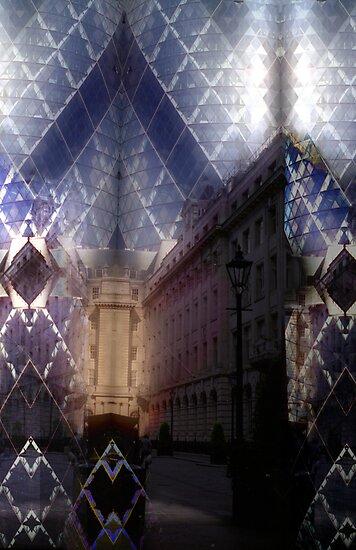London Gherkin by Stephen Jackson