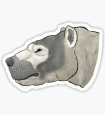 Eomellivora, the giant honey badger Sticker
