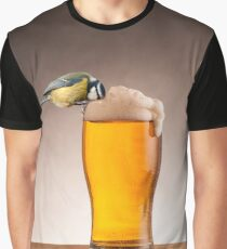A beer for the birds Graphic T-Shirt