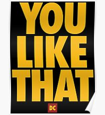 you like that Poster