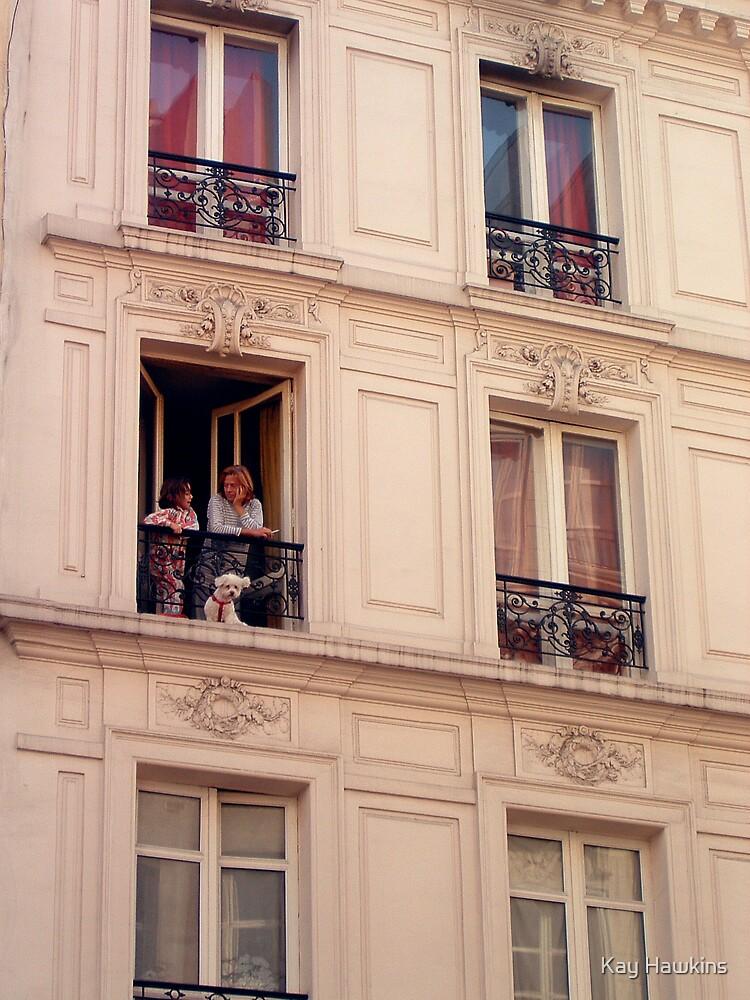 Parisian Street Scene by Kay Hawkins