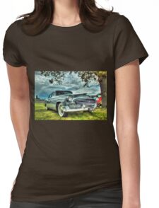 Chrysler Saloon Car Womens Fitted T-Shirt