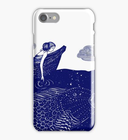 The Blue Shimmering Sea Lights iPhone Case/Skin