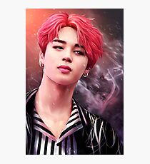 NOT TODAY - JIMIN (Without Text) Photographic Print